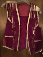 Maroon and Gold Vest